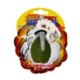 Tuffy Rugged Rubber El Bombası Köpek Oyuncağı (Xsmall)
