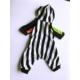 Kemique Siyah Beyaz Çizgili Penye Tulum - Pyjamas By Kemique