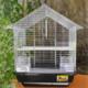 Qhpet Krom Telli Kuş Kafesi 34,5x28x45,5 cm