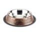Eurogold 8Oz Bakır Kaplama Desnli Çelik Mama Kabı