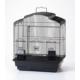 Qh Pet Cage Papağan Kafesi Beyaz Renkli (46.5 X 36 X 56)