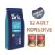 Brit Premium Kuzulu Ve Pirinçli Yetişkin Köpek Maması 15 Kg + Hediyeli