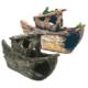Chicos Akvaryum İçin Dekoratif Gemi 19,5X7X12 Cm