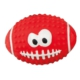 Latex Rugby Top Köpek Oyuncağı (Kırmızı) 10 Cm