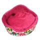 Lepus Peluş Kedi Köpek Yatağı Filli Pembe 18*52 Cm