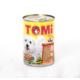 Tomi 3 Çeşit Kümes Hayvanlı Köpek konservesi 400 gr
