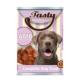Tasty Kuzulu Köpek Konserve Yaş Maması 415 GR