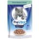 Prevital Erişkin Premium Streile Kümes Hayvanı İn Gravy Kedi Pouch 100Gr