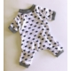 Sevimli Kedi - Summer Tulum By Kemique - Köpek Tulumu - Yazlık Köpek Kıyafeti - Köpek Elbisesi