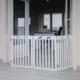 Trixie Ahşap Köpek Bariyeri 4 Parça 60 - 160 Cm X 75 Cm Beyaz