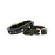 Doggie Comfort Nazar Boncuklu Boyun Tasması Siyah 2,5 X 50 cm