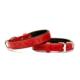 Doggie Comfort Kemik Desenli Boyun Tasması Kırmızı 2,0 X 40 cm