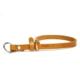 Doggie Klasik Deri Boğma Tasması Kamel 1,5 X 40 cm