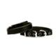 Doggie Dokuma Softlu Sade Boyun Tasması Siyah 1,5 X 35 cm