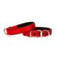Doggie Dokuma Softlu Sade Boyun Tasması Kırmızı 2,0 X 40 cm