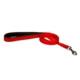 Doggie Dokuma Softlu Gezdirme Kayışı Kırmızı 1,5 X 150 cm