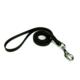 Doggie Dokuma Kedi Gezdirme Kayışı Siyah 1,0 X 150 cm
