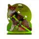 Astro Kedi Göğüs Tasması Yeşil