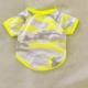 Kemique Fosforlu Sarı - Oval Yaka Tişört - Summer Köpek Elbisesi