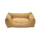 Lepus Soft Sarı Köpek Yatağı Small 40x25x55 cm