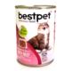 Bestpet Soslu Parça Etli Biftekli Konserve Yetişkin Kedi Maması 415 Gr