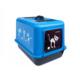 Petimister Kedi Kapalı Tuvalet Kabı Mavi