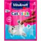 Vitakraft Sticks Somon Balığı ve Alabalıklı Kedi Ödülü 3 Adet 54 gr