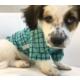 Dogi & Dog Yeşil Kareli Gömlek Köpek Kıyafeti