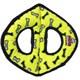 Tuffy 3 Kollu Kemik Desenli Köpek Oyuncağı 27 Cm