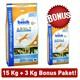 Bosch Balıklı Ve Patatesli Yetişkin Kuru Köpek Maması 15 Kg + 3 Kg