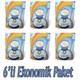 Mırmır Silica Kedi Kumu 6´Li Ekonomik Paket 6 X 3.8Lt