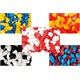 Karışık Renkli Çakıl 30Adet Çift Renkli