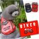Kemique Kırmızı Harley Köpek Montu - Biker By Kemique