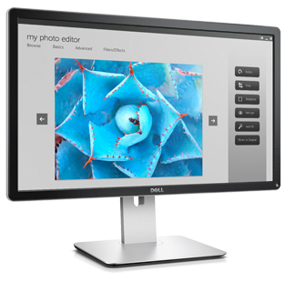 Dell 24 Ultra HD 4K Monitör - P2415Q - Mükemmele yakın renk hassasiyeti