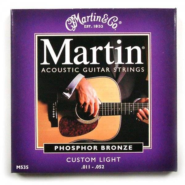 MARTIN M535 PHOSPHOR BRONZE CUSTOM LIGHT AKUSTİK