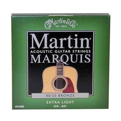 MARTIN M1000 80/20 BRONZE EXTRA LIGHT AKUSTİK