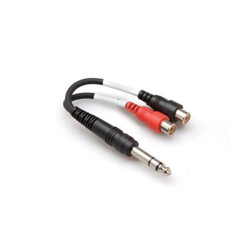 019-YPR102 HOSA 1/4 TRS (M)  Dual RCA (F) Stereo