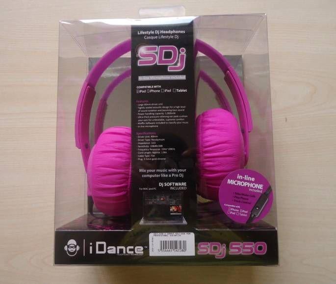 I DANCE SDJ-550 MOR PROFESYONEL KULAKLIK+KARGO