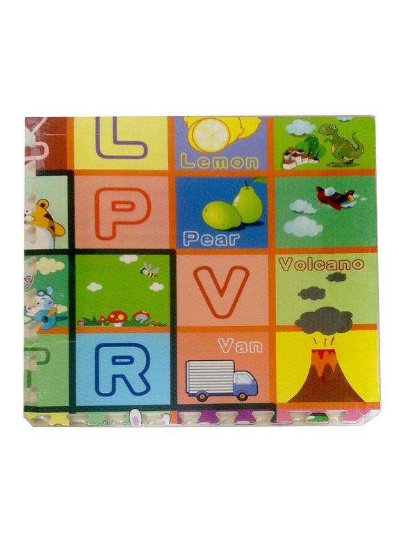 Eva Puzzle Harfli-Meyveli  60 cm 1446650085.2367