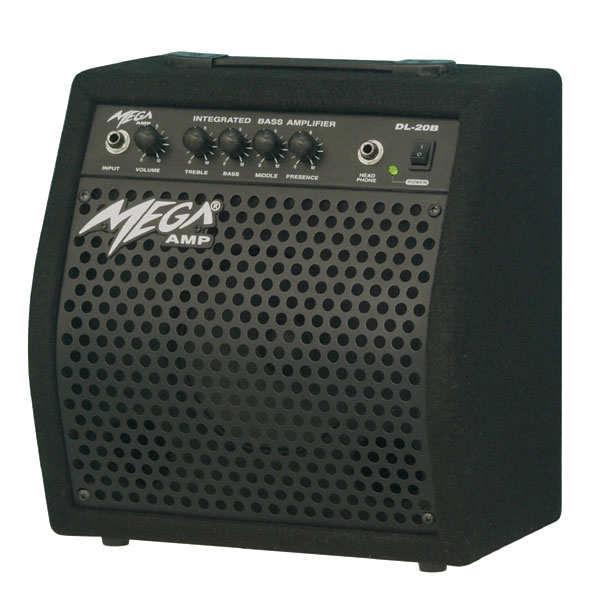 Mega DL-20B 20 W RMS Bass Gitar Amfisi+KARGO BED