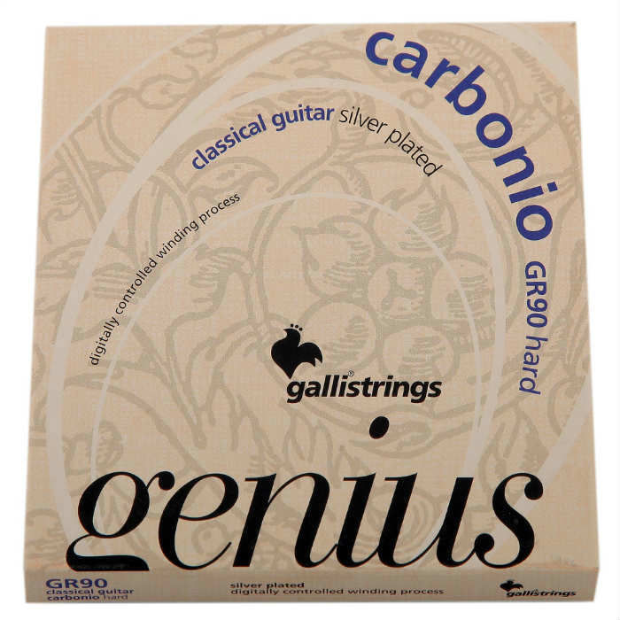 Galli GR-90 Klasik Gitar Teli Carbonio Hard