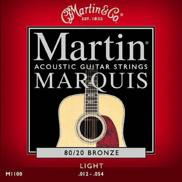 MARTIN M1100 80/20 BRONZE LIGHT AKUSTİK TELİ 012