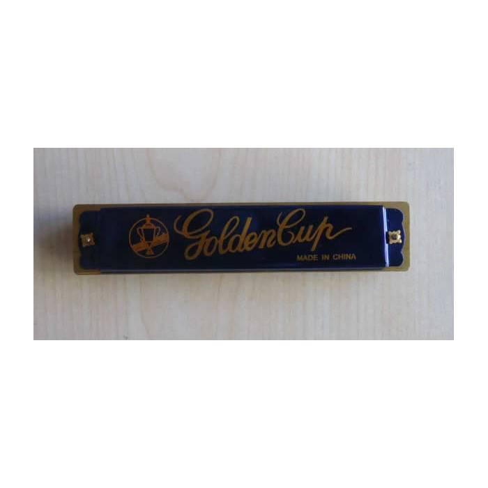 GOLDEN CUP MIZIKA 20 DELİKLİ - HARMONICA MAVİ