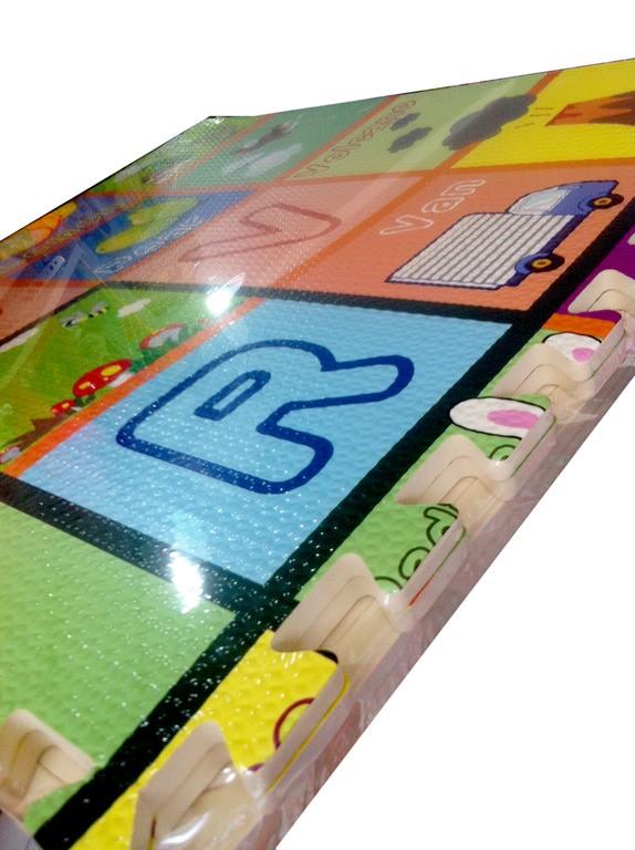 Eva Puzzle Harfli-Meyveli  60 cm 1446650092.5368