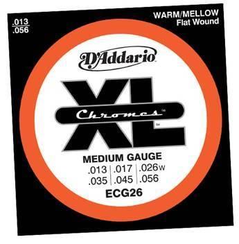 Daddario ECG26 Jazz - Elektro Gitar Teli 013