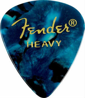 Fender 351 Premium Celluloid Picks - Blue Moto H