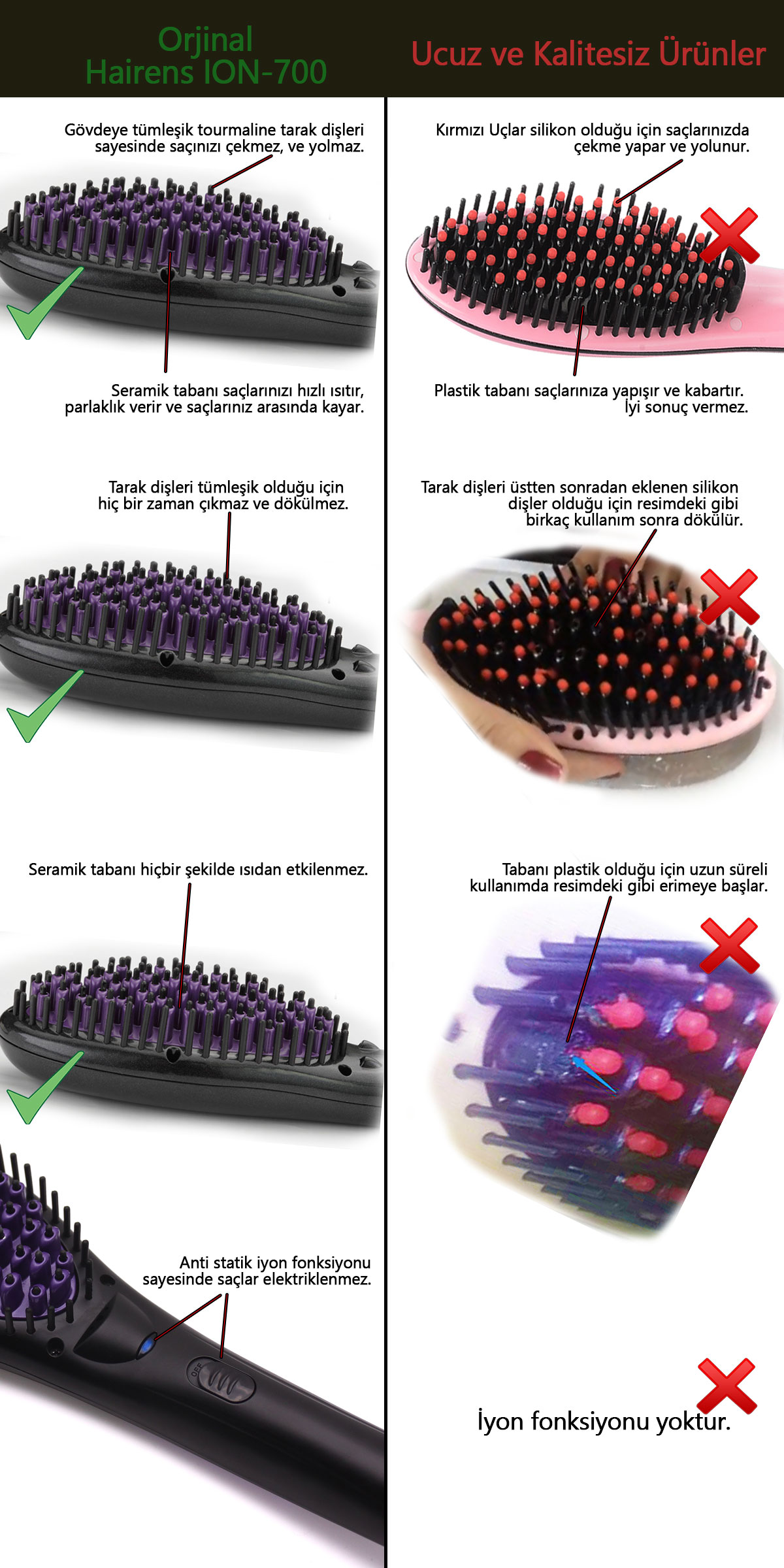 Saçlarınızın Saç Fırçasına Yapışmasını Engelleyecek Basit Bir Numara