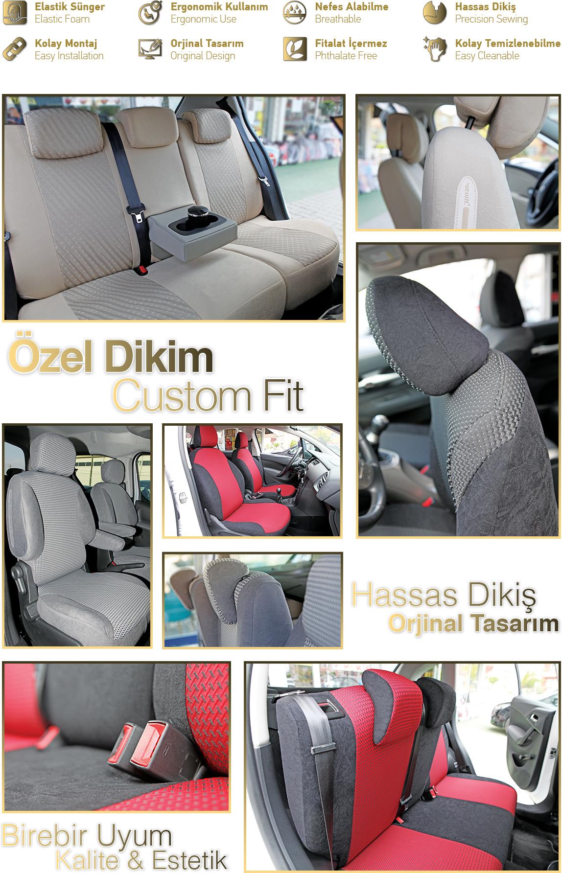 Otom Bmw 1 Serisi 1 16d 2011 Sonrasi J 109 Kirmizi Araca Fiyati
