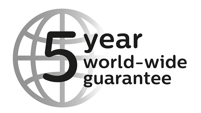5 yıl garanti