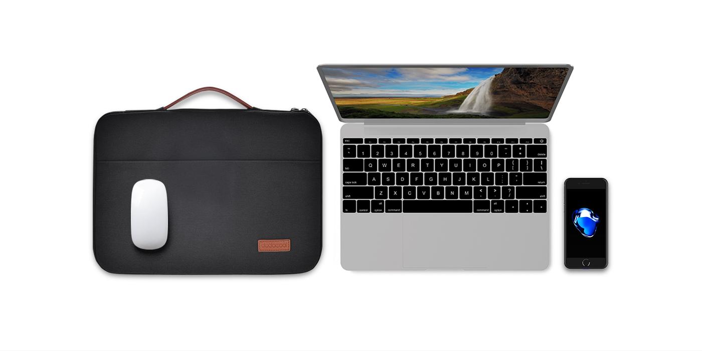 219abce73231f Dodocool Premium Polyester Dış Cephe Ve Yumuşak Kadife Astarlı 13,3 İnçlik  Dizüstü Bilgisayar Kılıfı, Dizüstü Bilgisayarınızı Veya Ultrabook'Unuzu ...